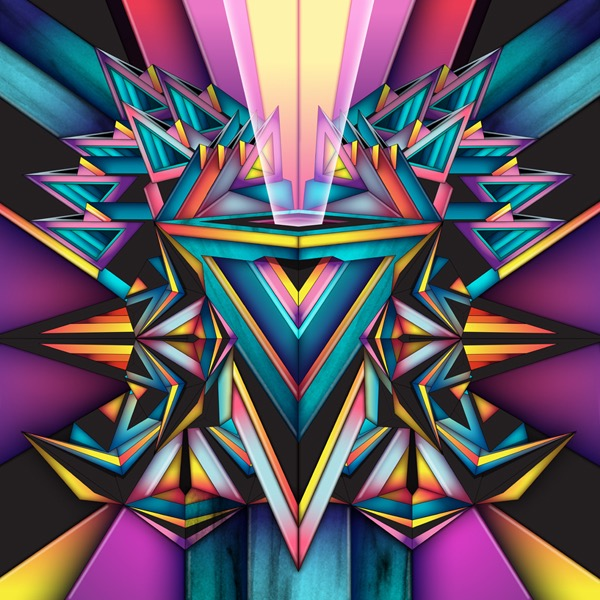 Vector Surrealistic Futuristic Fantastic abstract pattern patterns geometric symetric