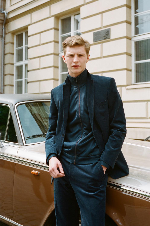 People Portrait car fashion man model