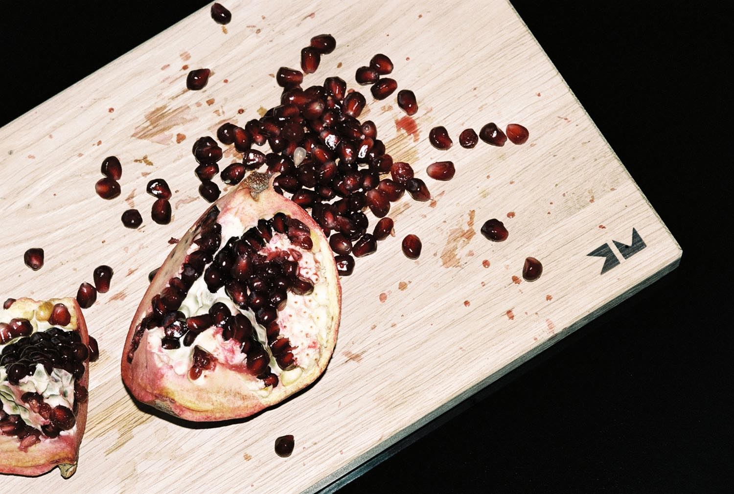 fruit pomegranate fruits food