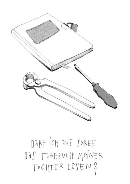 diary pliers screwdriver book