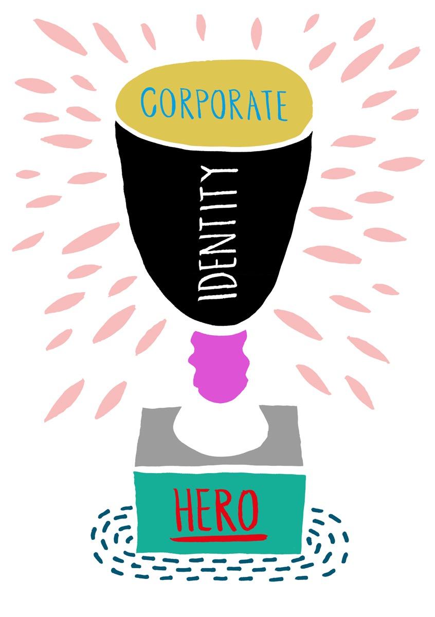 illustration, illustrations, illustrator, illustrators, trophy, trophies, accomplish, accomplishment, award, awards, corporate, identity, hero, neutral