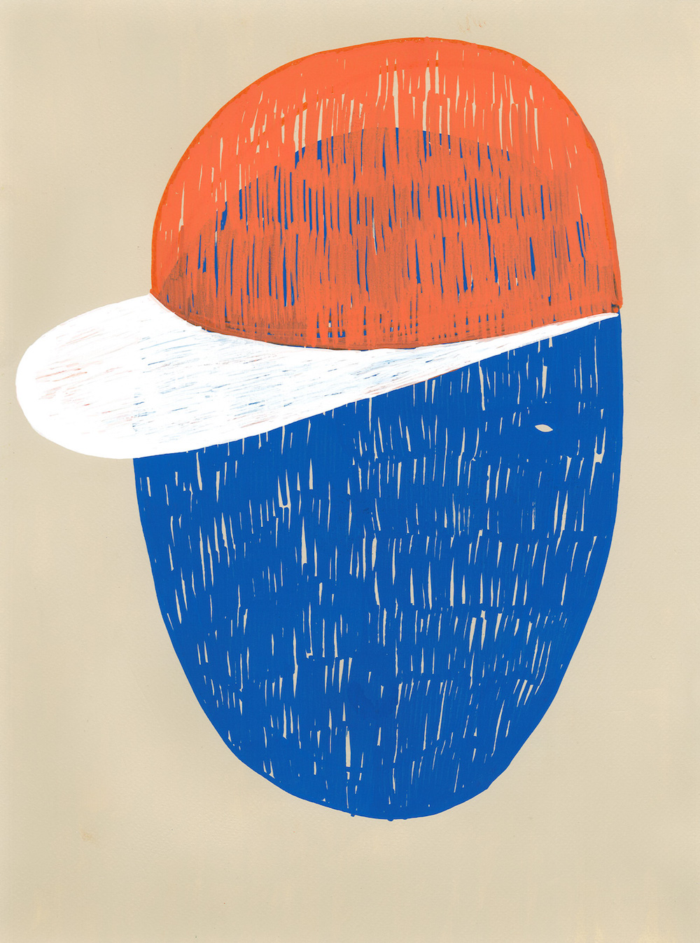 illustration, illustrations, illustrator, illustrators, cap, caps, hat, hats, stroke, strokes, texture, beige, boy, boys, girl, girls