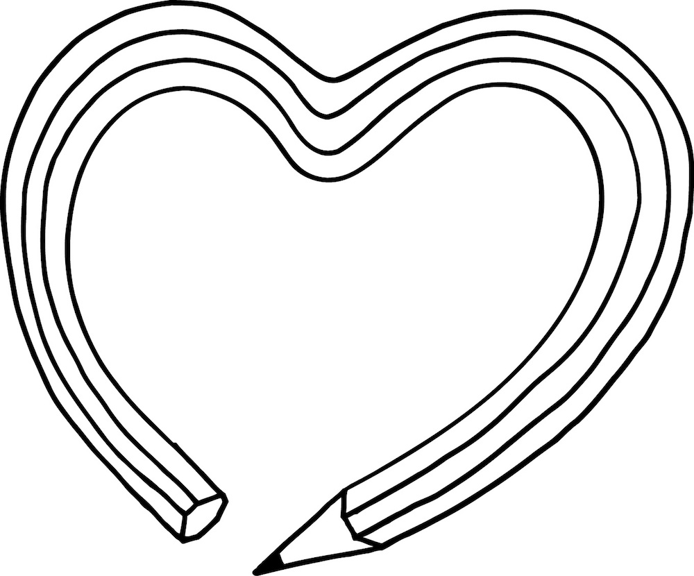 illustration, illustrations, illustrator, illustrators, pencil, pencils, heart, hearts, draw, drawing, love