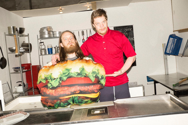 deichkind people music musician singer indoor indoors hamburger costume