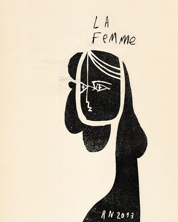 woman face femme