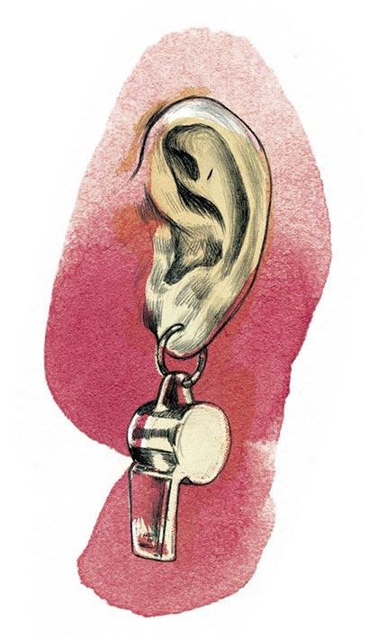 ear ears earring earrings whistle