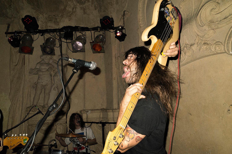 People concert singer microphone musician man bass longhair