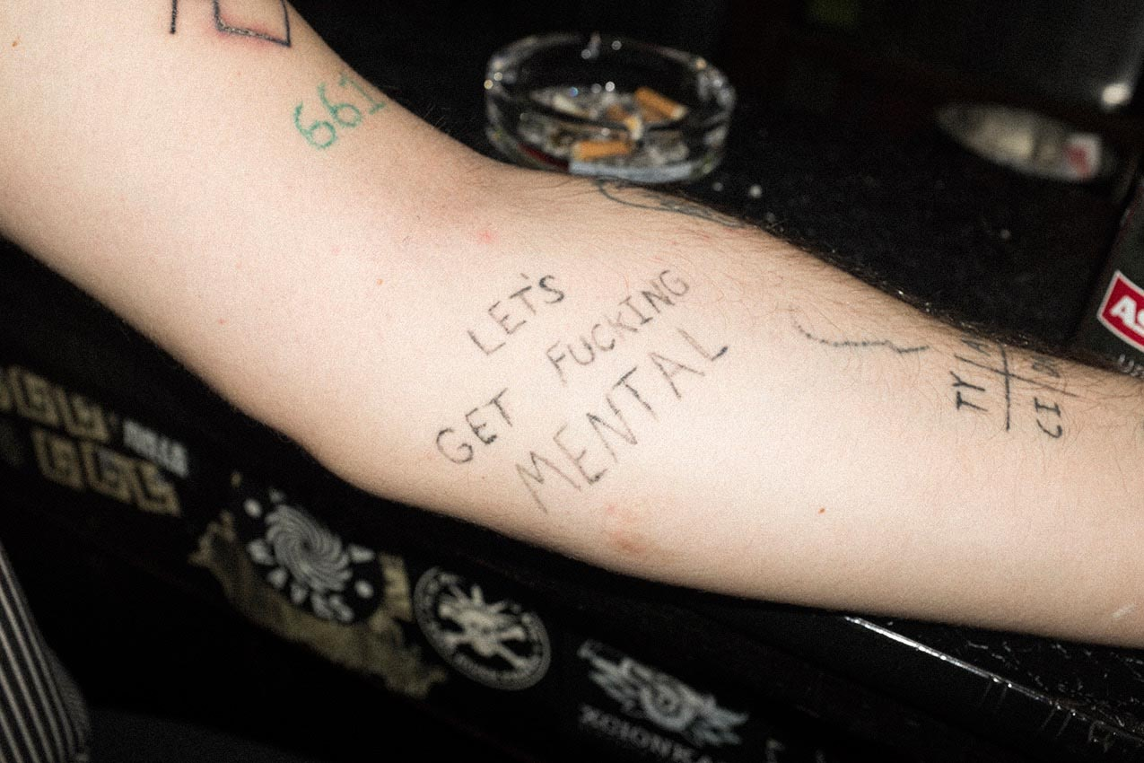 arm tattoo tattoos fucking fuck musician documentary