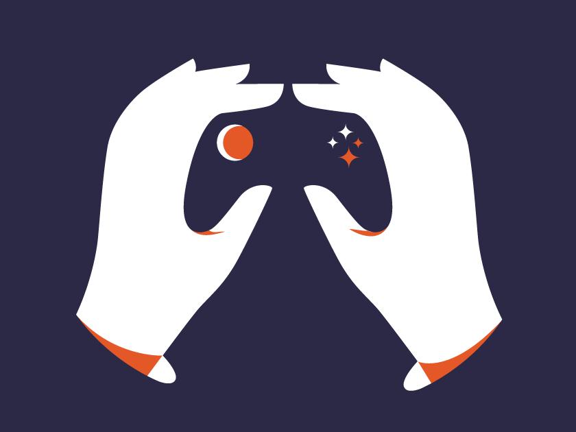 vector minimal hand hands controller