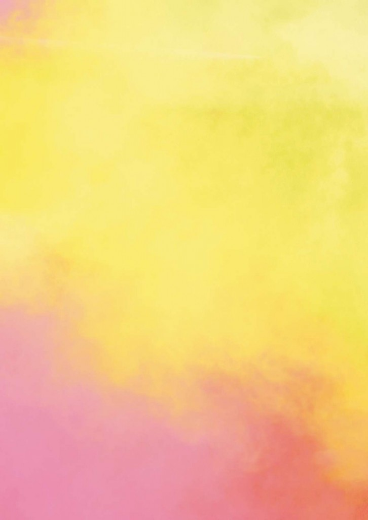 colorful steam cloud powder yellow pink fog foggy colors
