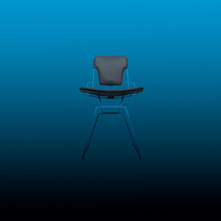 chair blue