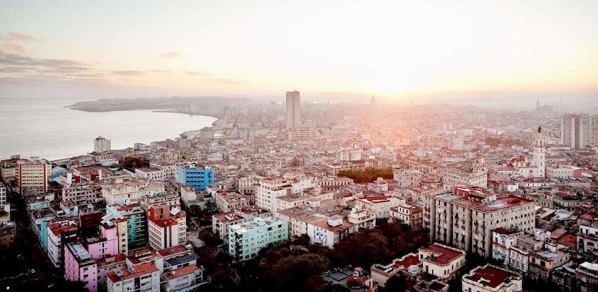 city cityscape buildings sundown building