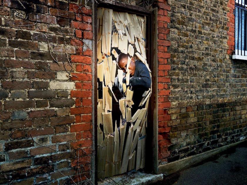 photograph photographer photo photographers photography destroy destroyed damaged damage damages break breaking broken door wood wooden exit