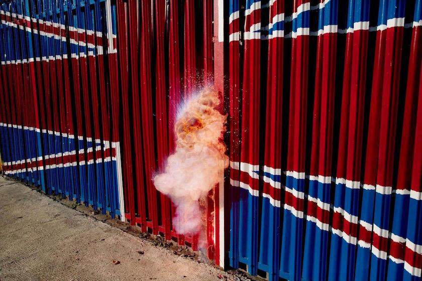 photograph photographer photo photographers photography outside explosion flame fire smoke cloud hot heat flag