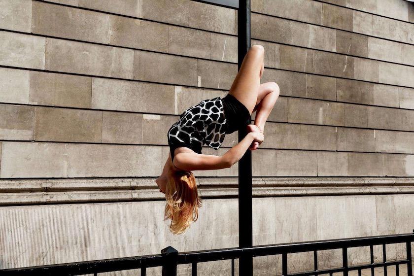 photograph photographer photo photographers photography city day bright sun sunny warm woman pole dance