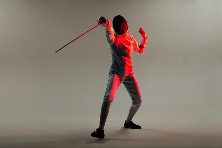 photograph photographer photo photographers photography sport red light woman women swordplay fencing
