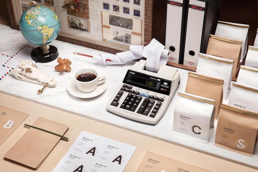 stills globe coffee skull calculator desktop paper packaging