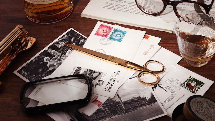 stills scissors gold golden drink drinks glass glassware postcard postcards loupe