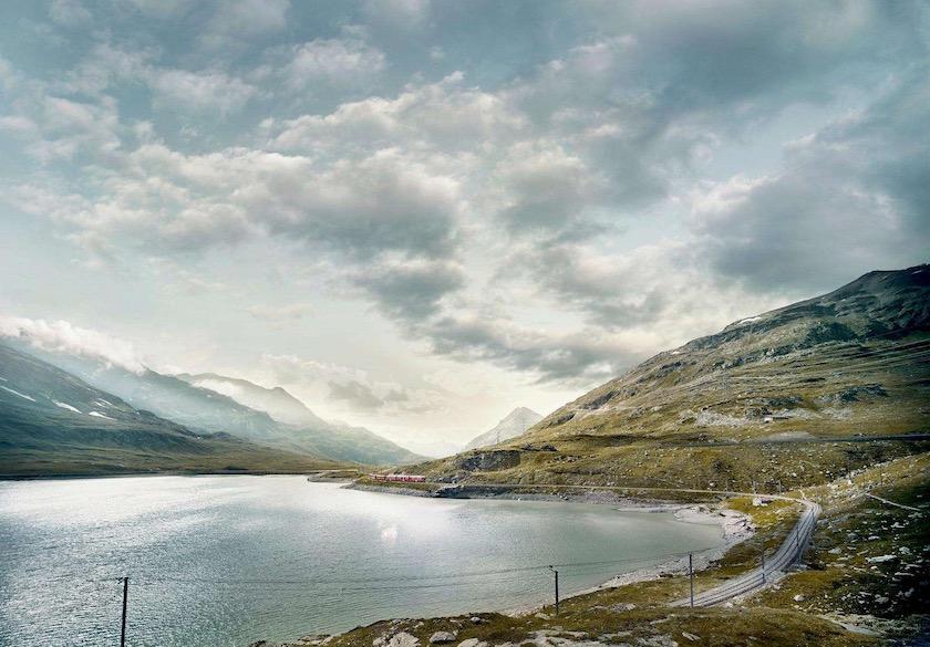photo photos photography photographer photographers river mountain vale flow run pour train rail rails