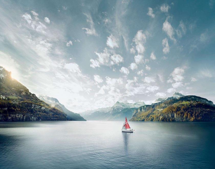 photo photos photography photographer photographers green mountain lake sea sky cloud clouds boat mountains
