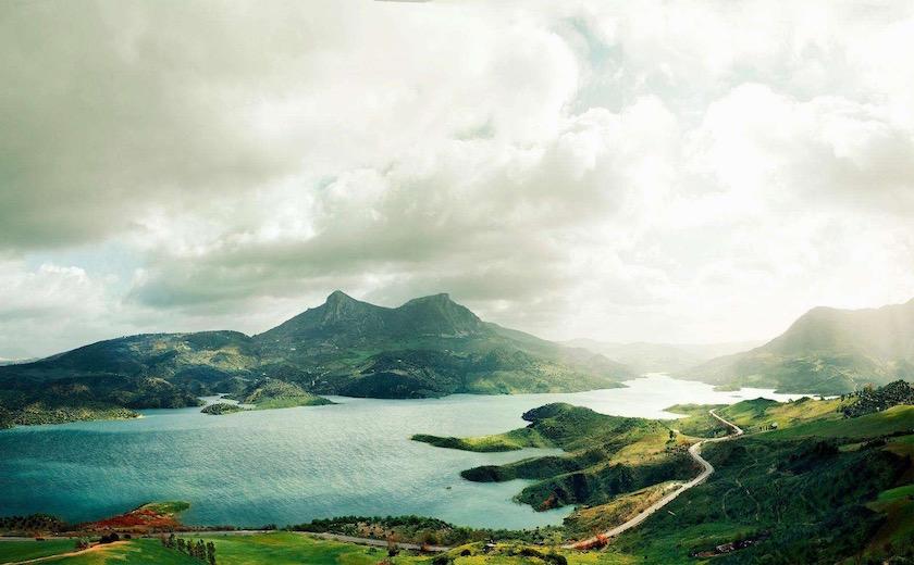 photo photos photography photographer photographers green mountain lake sea sky cloud clouds