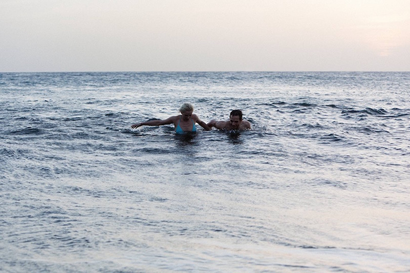 photo photos photography photographer photographers woman young man beach water swim swimming wet wave waves