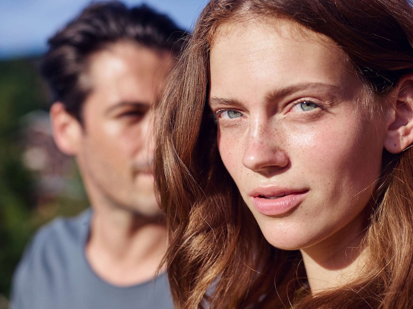 photo photos photography photographer photographers woman young face head green eyes smile expression blurry
