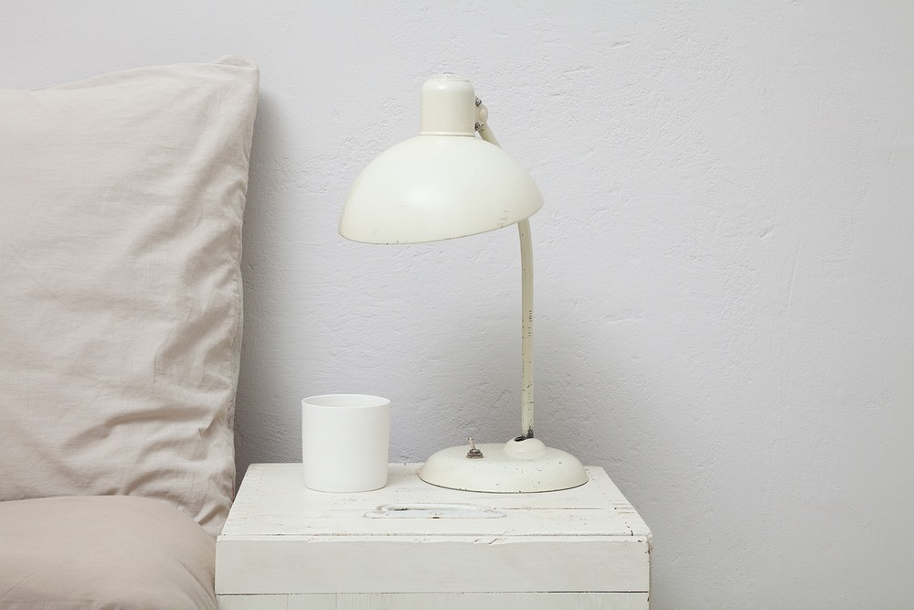 photo photos photography photographer photographers picture pictures image images white lamp bed nightstand bedstand