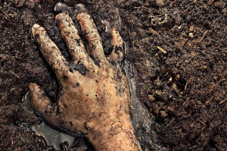 photographer photography photo image hand mud soil