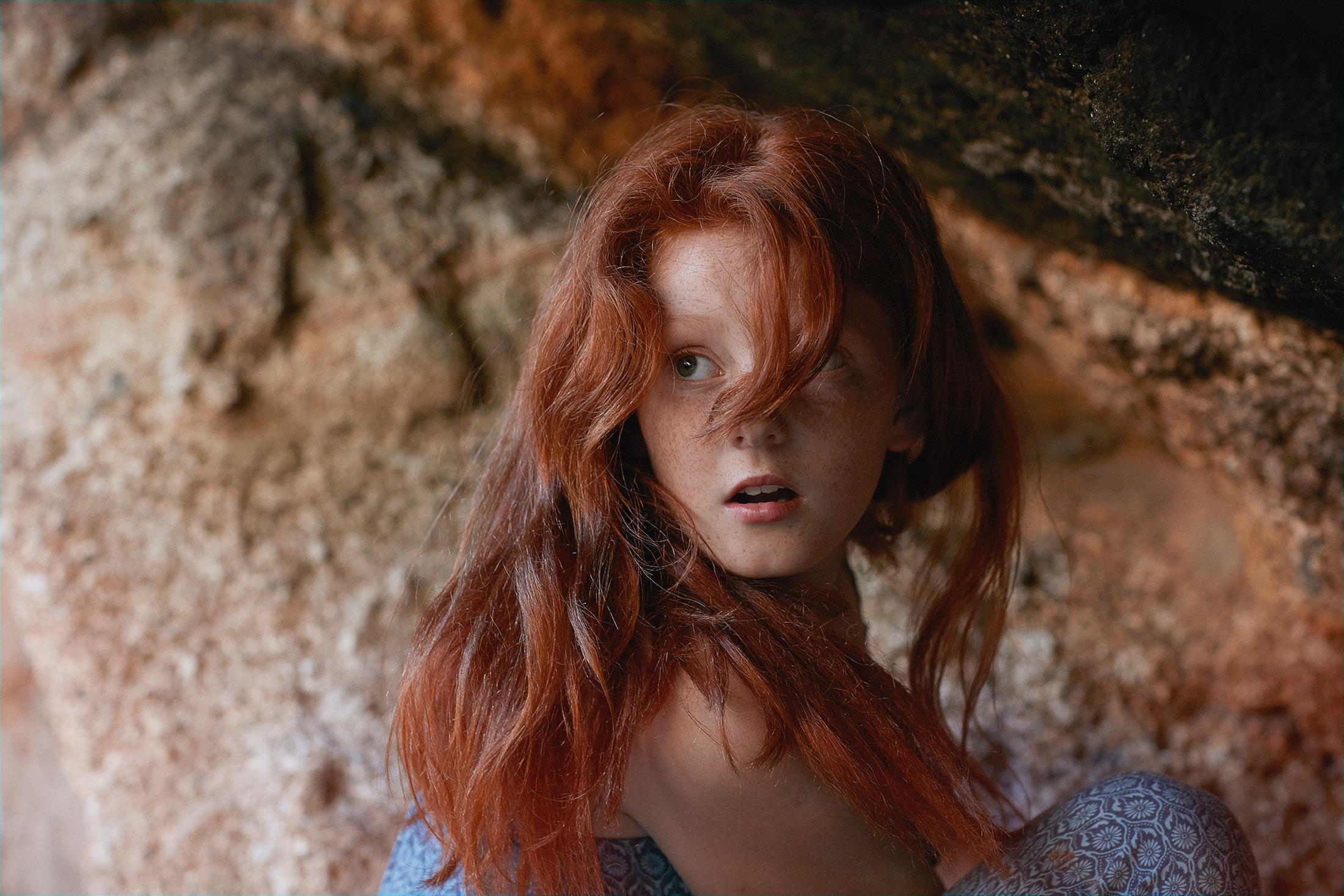 photo photography photographer kid child children girl ginger face hair
