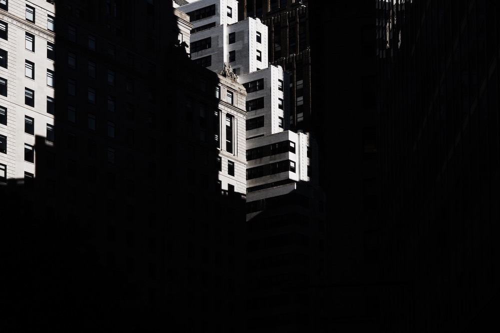 photographer photography photo dark black shadow city urban town building buildings nyc