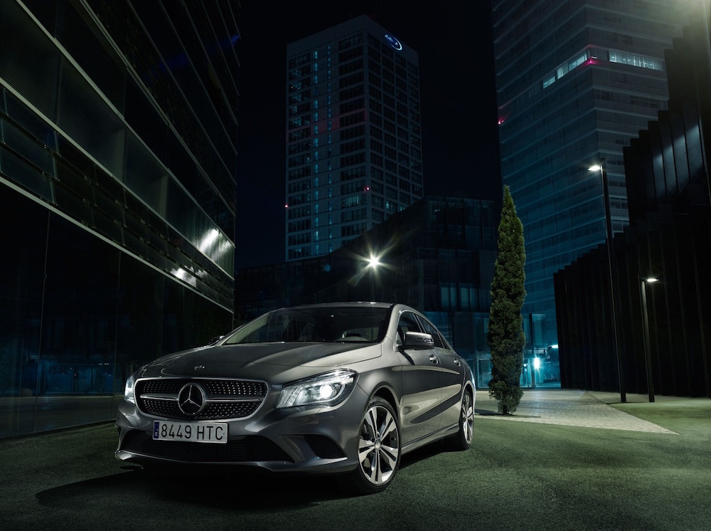 photography photographers photographer photos photo transportation car mercedes cla night outside architecture urban city