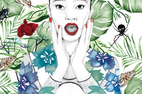 illustrator, illustrators, illustration, illustrations, woman, women, leaf, leaves, plant, plants, moth, moths, butterfly, butterflies, spider, spiders, beetle, beetles, insects, bug, flower, flowers, fern, ferns, shock, hand, hands, rose, roses
