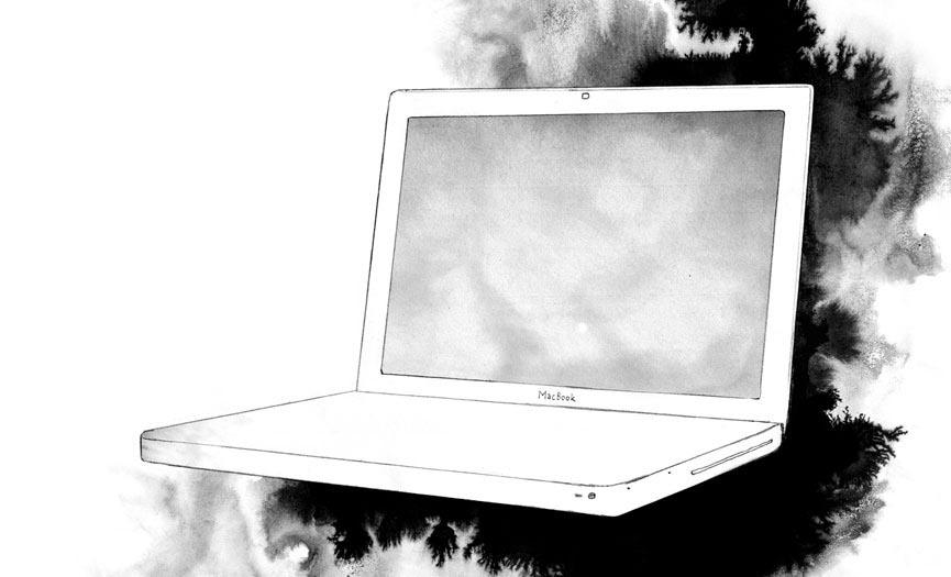 laptop macbook computer apple mac