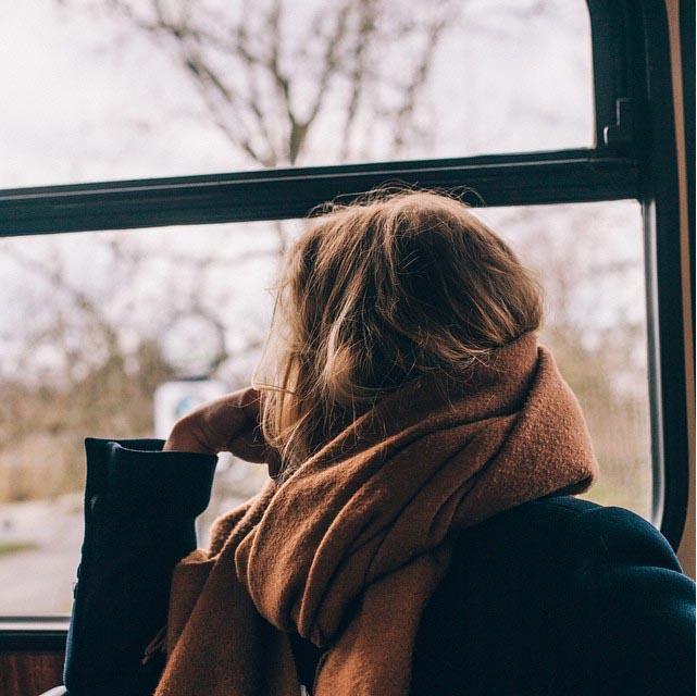 lifestyle people woman girl window windows scarf