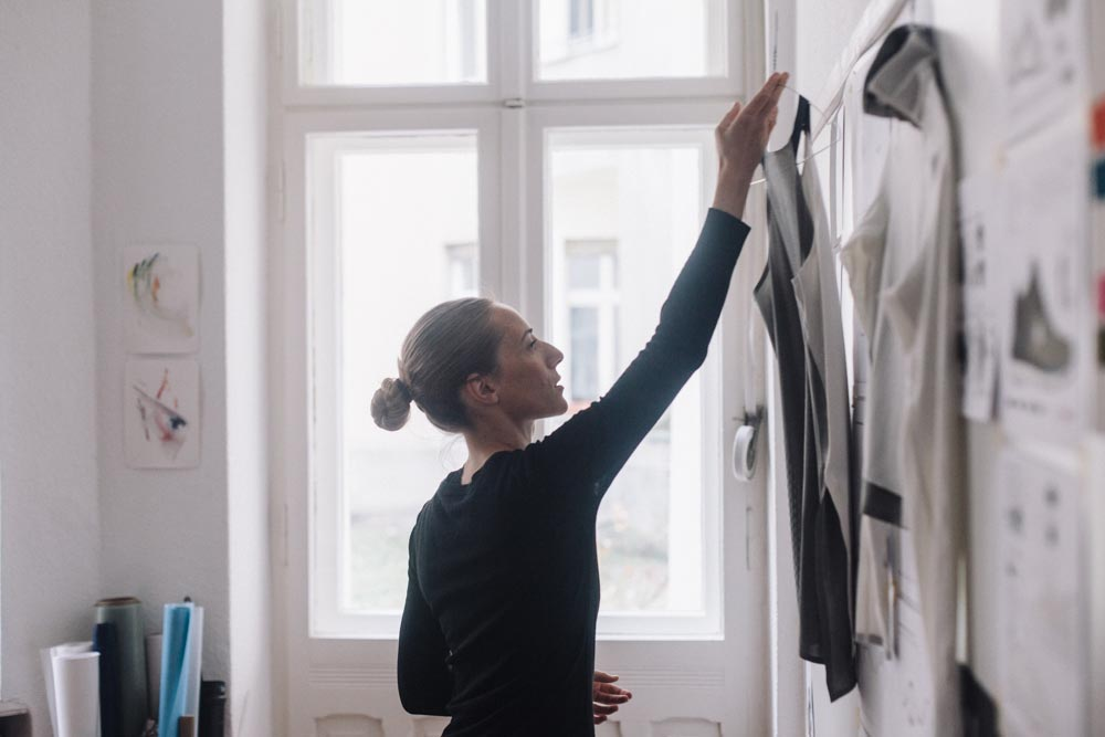 Lifestyle people indoor adults atelier workspace designer artist work