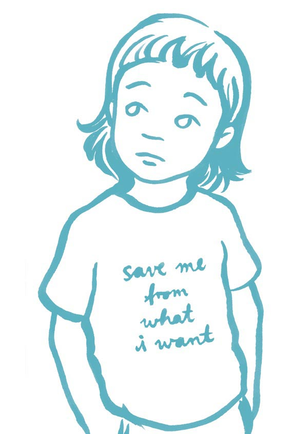 illustration illustrations illustrator illustrators save me from what i want girl girls boy boys child children shirt sketch blue turquoise