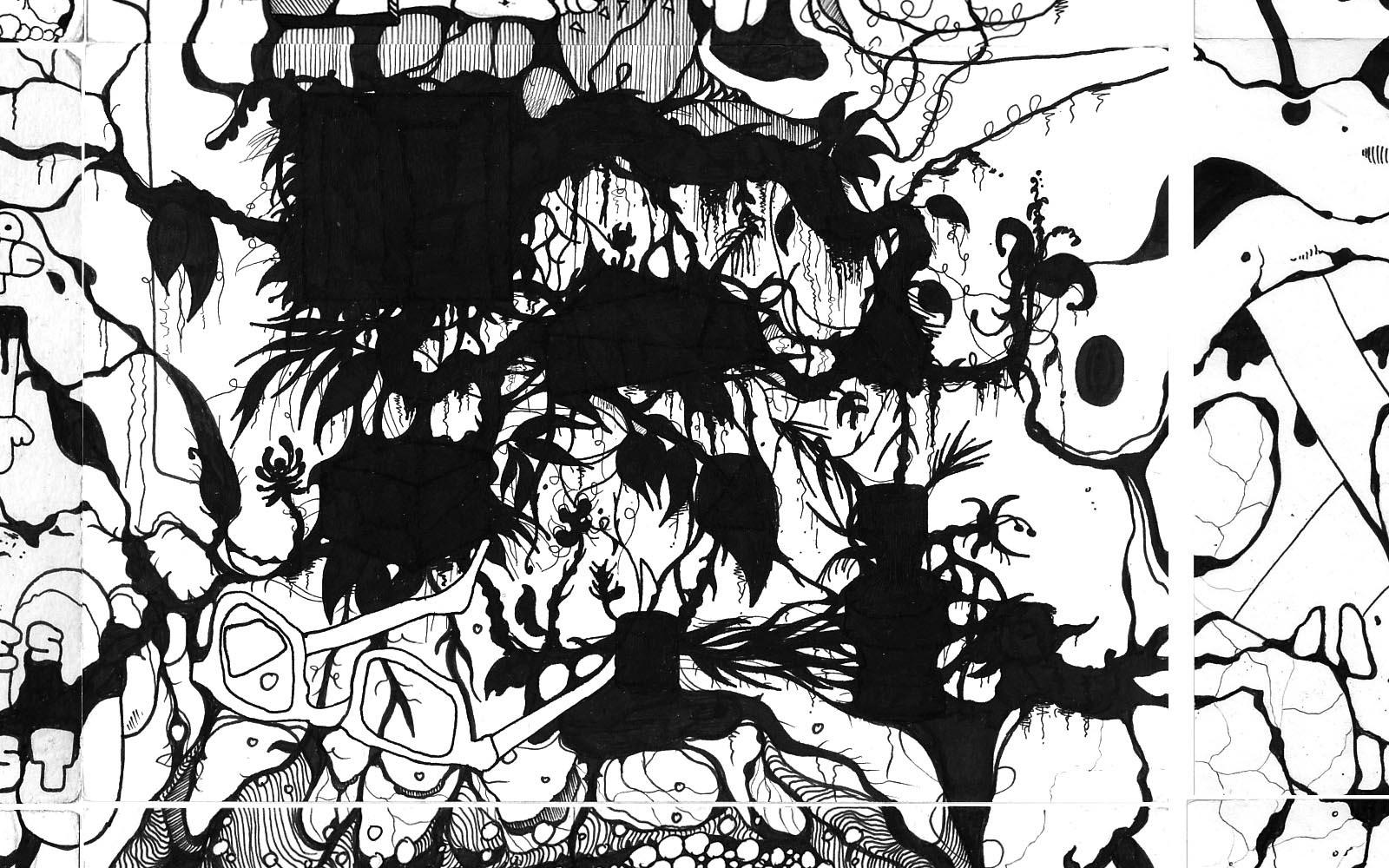 ink comics doodle