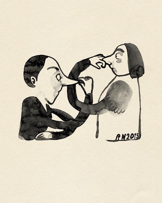 nose man woman men women