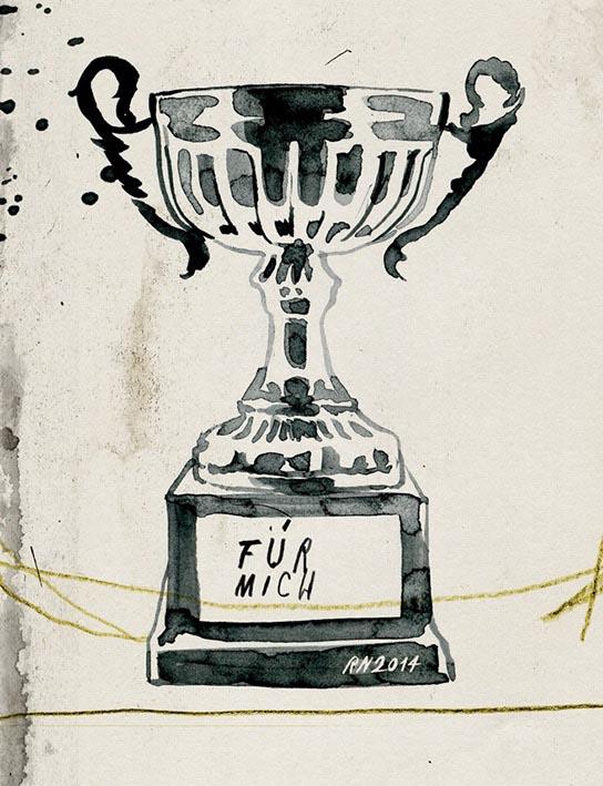 trophy cup winner