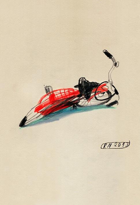 red bike bikes