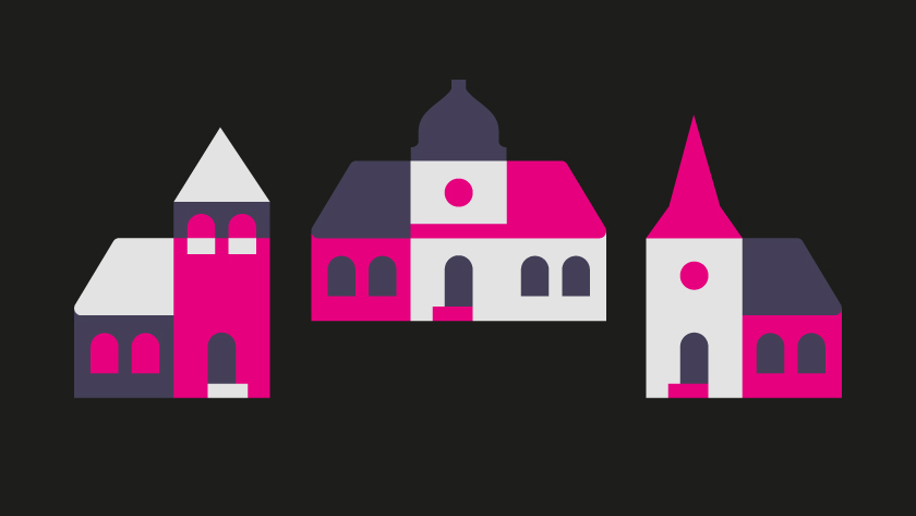 vector minimal building buildings house curch churches architecture