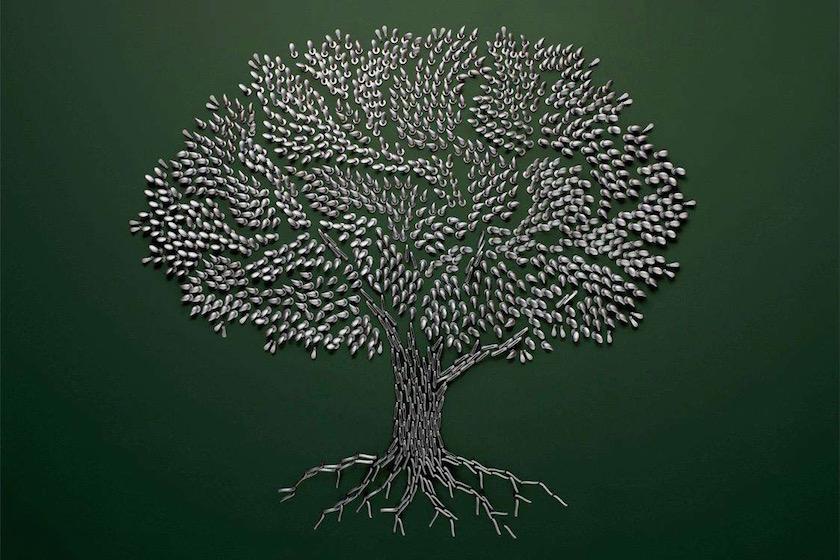tree metal tool tools