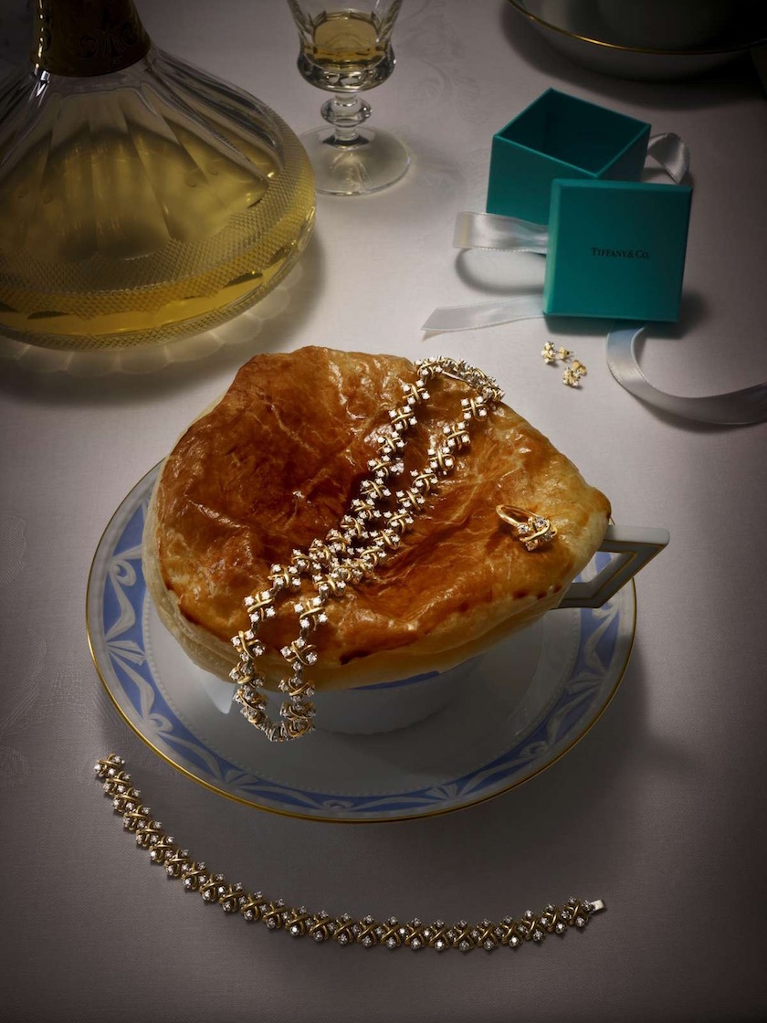 jewelry gold golden table food drink cup chain bracelet ring