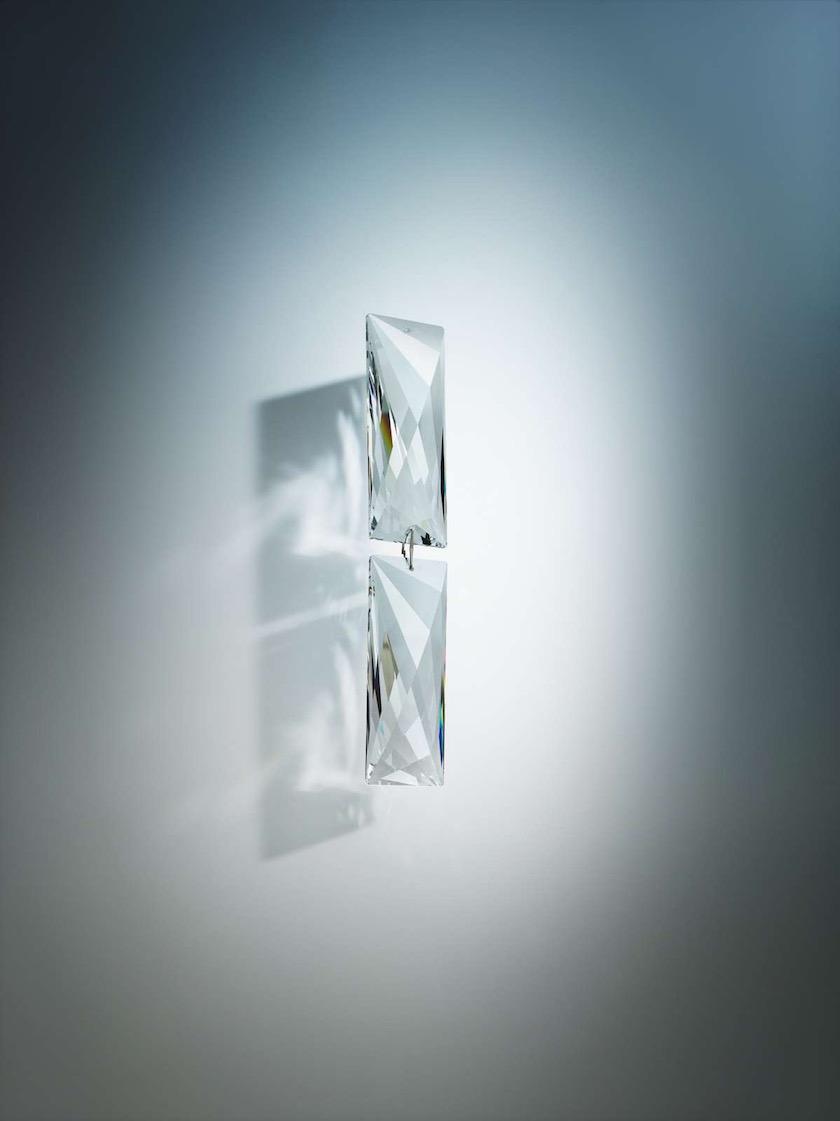 glass diamond bright white