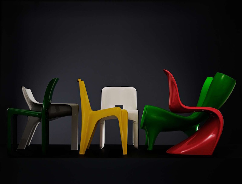 chair chairs design designer objects red green yellow white colorful
