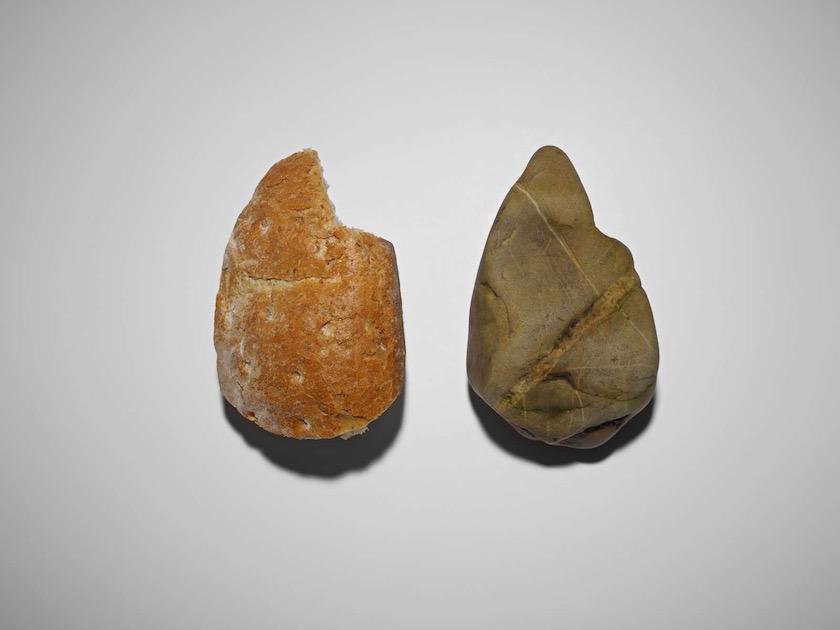 bread stone double 2 two twin twins copy form shape same