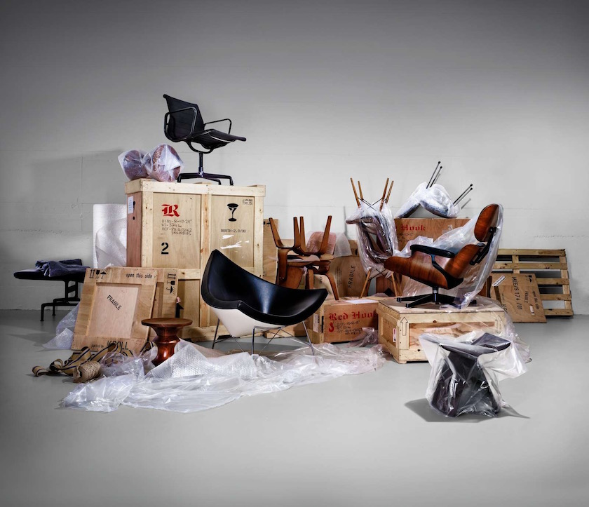 chair chairs design designer objects packed packaging sit sitting wood wooden leather