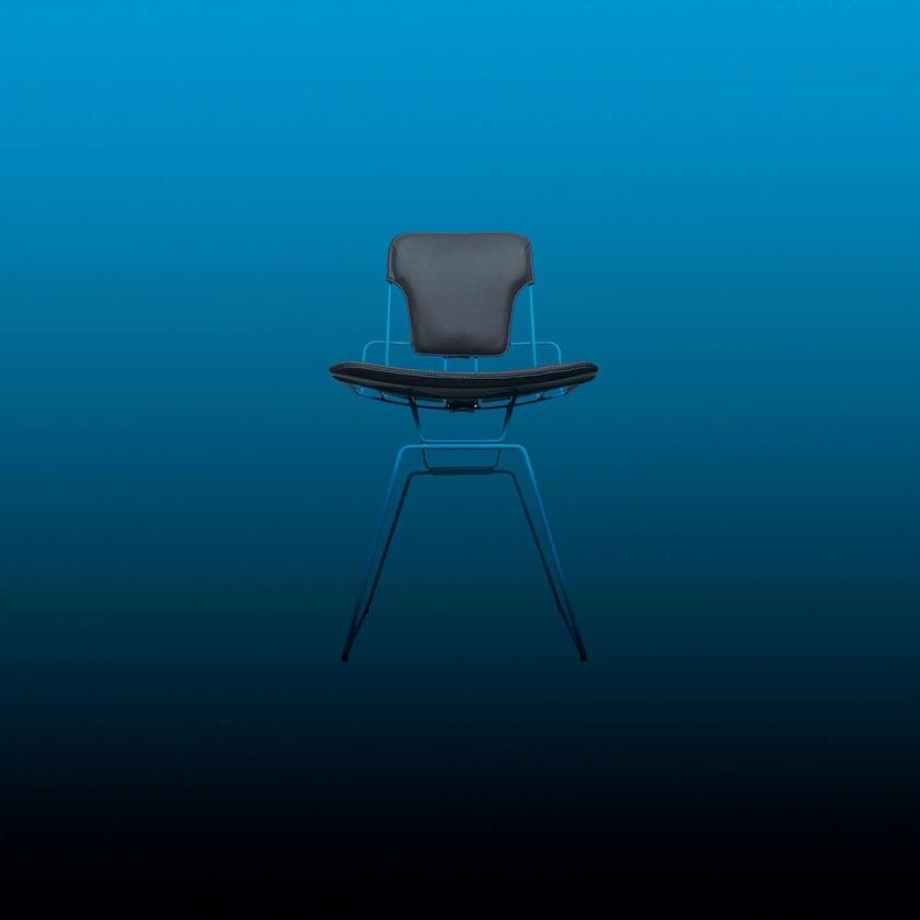 chair blue