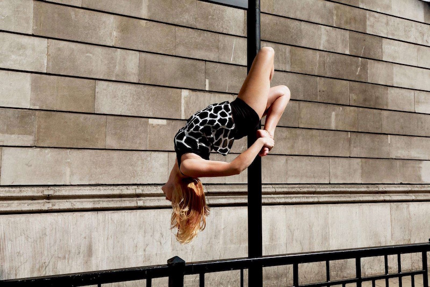 photograph photographer photo photographers photography city day bright sun sunny warm woman pole dance